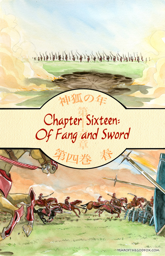chapter 16: Of Fang and Sword